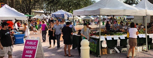 West Palm Beach Green Market is one of Florida, FL.