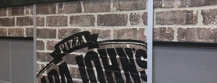 Papa John's is one of Orte, die Paul gefallen.