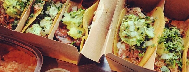 Otto's Tacos is one of NYC grub.