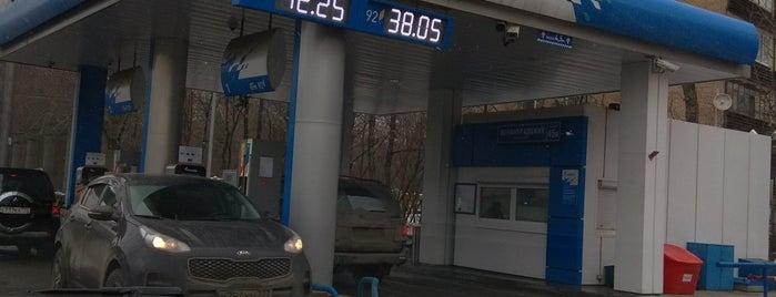 Газпромнефть АЗС № 98 is one of Ксения 님이 좋아한 장소.