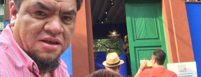 Museo Frida Kahlo is one of Gespeicherte Orte von Lulu.