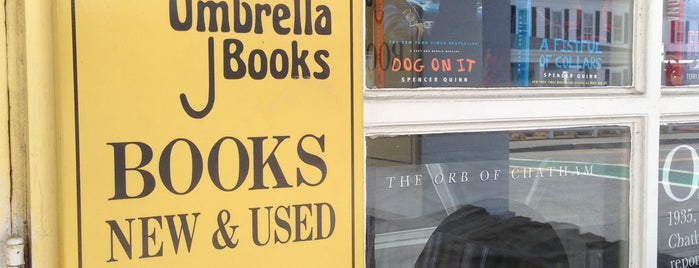 Yellow Umbrella Books is one of Cape Cod.