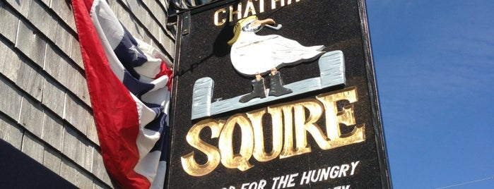 Chatham Squire Restaurant is one of Lugares favoritos de Mark.