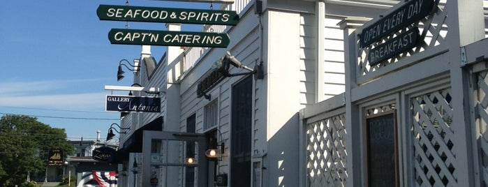 The Captain's Table is one of Good Eats in New England.