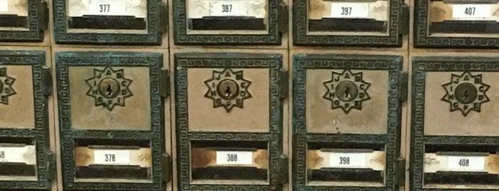 US Post Office is one of Orte, die Sandy gefallen.