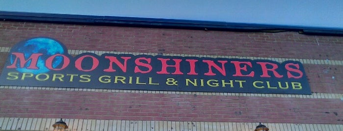 Moonshiners Sports Bar & Night Club is one of Downtown Rapid City Nightlife.