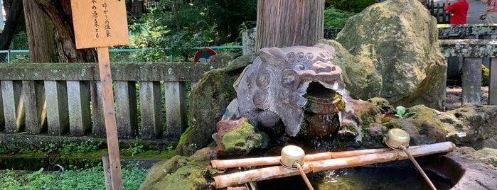 明神湯 is one of ジャックさんのお気に入りスポット.