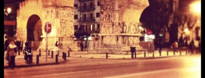 Arch of Galerius (Kamara) is one of Thessaloniki.