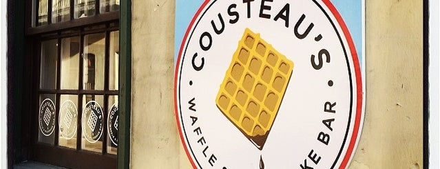 Cousteau's Waffles & Milkshake Bar is one of USA Orlando.