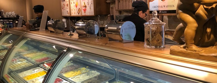 Amorino is one of Gluten free London.