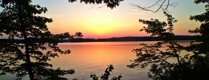 Massabesic Lake is one of North America.