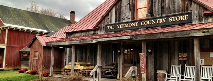 Vermont Country Store is one of Out of town Restaurants.