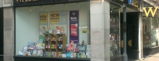 Waterstones is one of London trip.