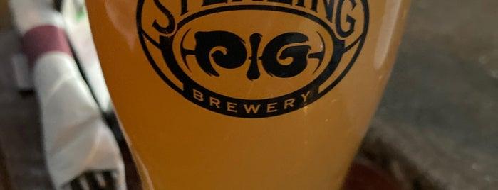 Sterling Pig Brewery is one of Posti salvati di Rachel.