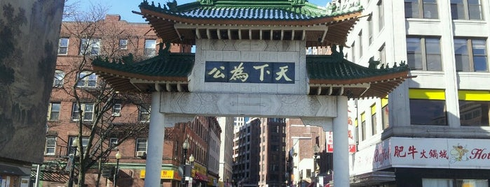 Chinatown is one of Boston.