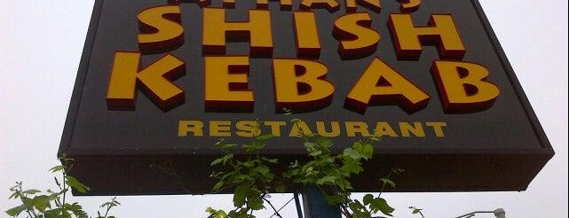 Ayhan's Shish-Kebab is one of Lieux qui ont plu à Kamara.