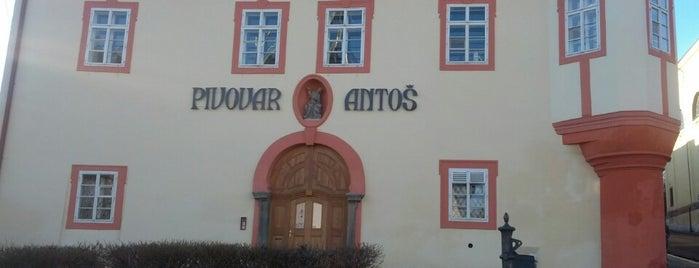 Pivovar Antoš is one of Пражские пивные - рекомендации от DailyBeer.eu.