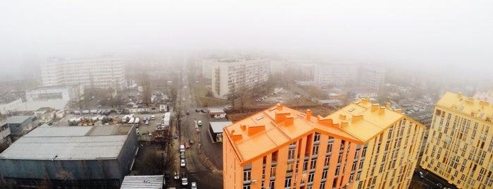 ЖК «Комфорт Таун» is one of Orte, die Lul9 gefallen.