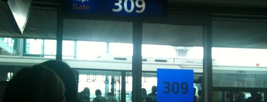 Gate 309 is one of İstanbul Atatürk Airport.
