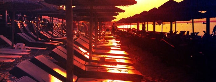 Agistri Beach Bar is one of Greece.