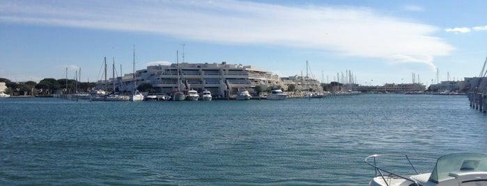 Marina de Port Camargue is one of Orte, die Radu gefallen.