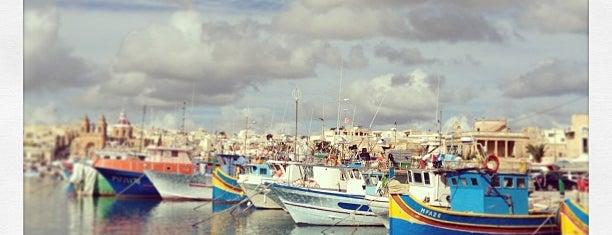 Marsaxlokk is one of When in Malta.