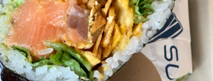 Sushirrito is one of FiDi/SOMA Lunch Options.