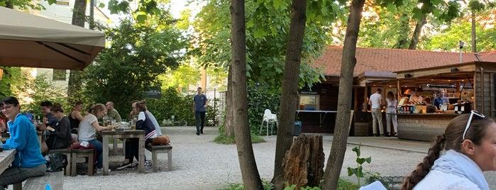 Riegele Biergarten is one of Tempat yang Disimpan Johannes.