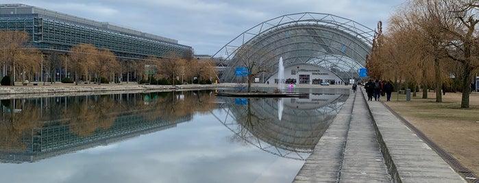 Merkurbrunnen is one of Buchmesse Leipzig / wo die tollen Leute sind.