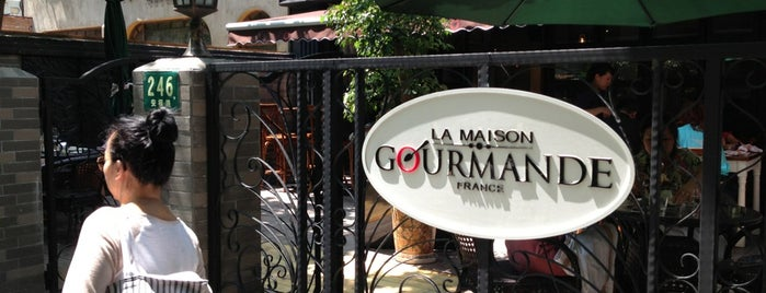 La Maison Gourmande is one of Shanghai to try.