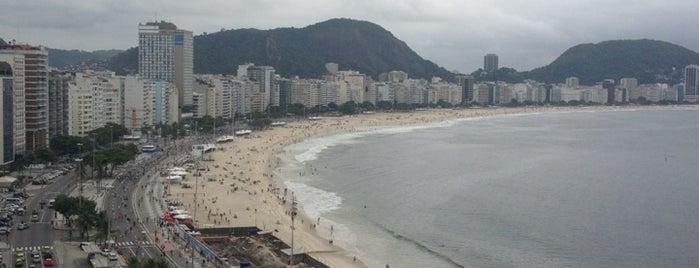 Orla Copacabana Hotel is one of สถานที่ที่ Eugene ถูกใจ.