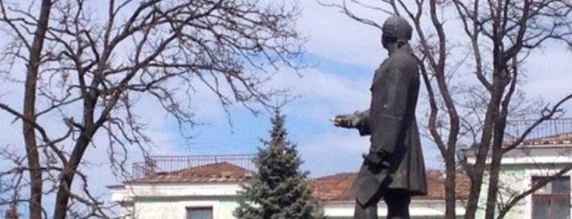 Пам'ятник М. В. Ломоносову / Lomonosov monument is one of Posti salvati di Катерина.