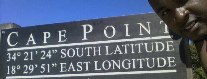 Cape Point Nature Reserve is one of Tsamina mina waka waka eh eh.