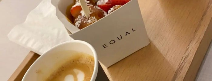Equal Coffee Hub is one of Riyadh , Cafe☕️.