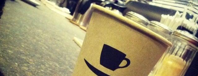 Gimme! Coffee is one of Coffee Shops Below 14th Street.