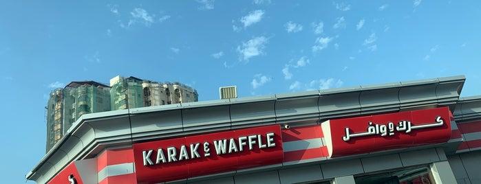 Karak & Waffle is one of Tempat yang Disukai Joelle.