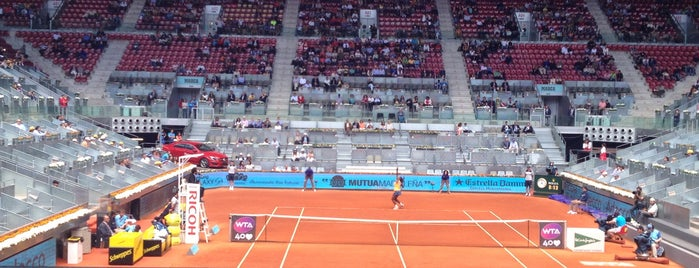 Mutua Madrileña Madrid Open is one of Enrique'nin Beğendiği Mekanlar.