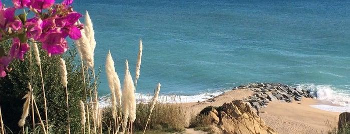 Platja de Sant Pol de Mar is one of Les millors platges prop de Barcelona.