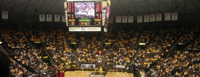 Charles Koch Arena is one of NCAA Division I Basketball Arenas/Venues.