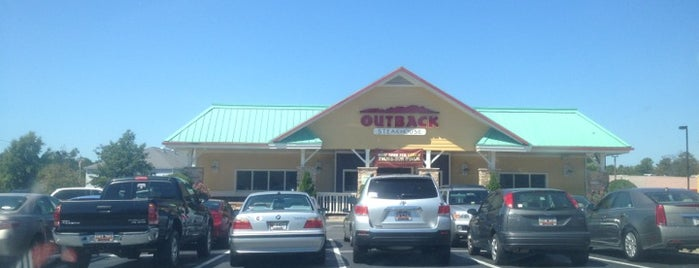 Outback Steakhouse is one of Fun places.