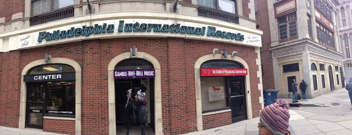 Philadelphia International Records is one of Philly & Other PA.
