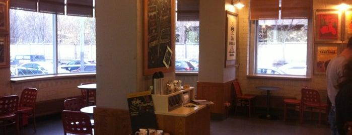 Starbucks is one of Locais curtidos por Matthew.