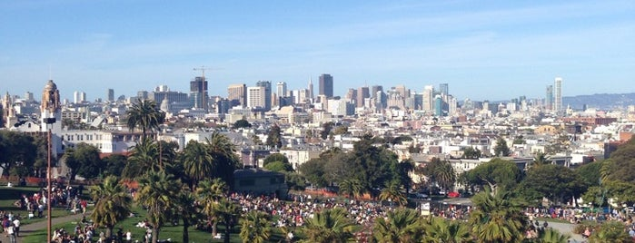 Mission Dolores Park is one of Erin & Brenden's SF.