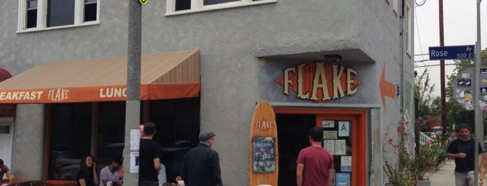 Flake is one of LA cafés.