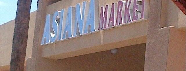 Asiana Market is one of Posti salvati di Katherine.