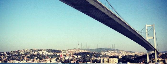 Boğaziçi Köprüsü is one of IST.