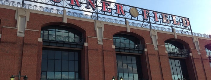 Turner Field is one of Orte, die Gifted Hands gefallen.