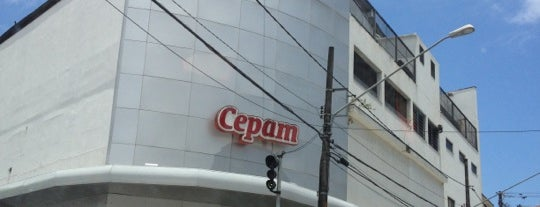 Cepam is one of Café da Manhã.