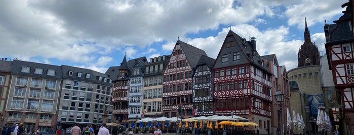 Römerberg is one of Frankfurt.