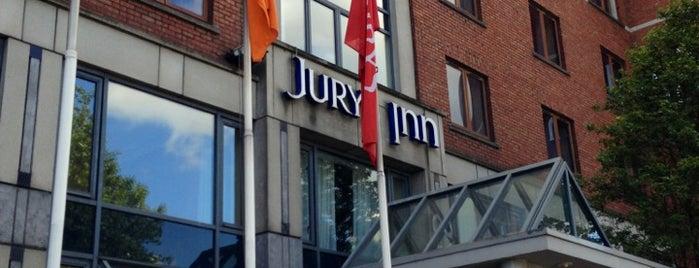 Jurys Inn is one of Onde estive.